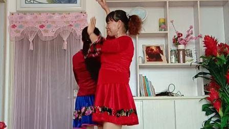 网红歌曲双人对跳《采茶舞曲》