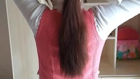 自己剪长发