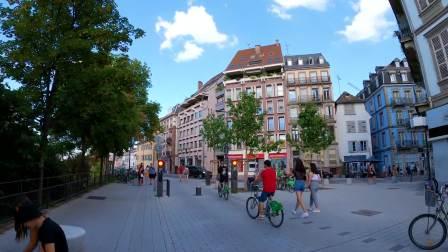 法国 斯特拉斯堡 散步 Strasbourg France Walking Tour