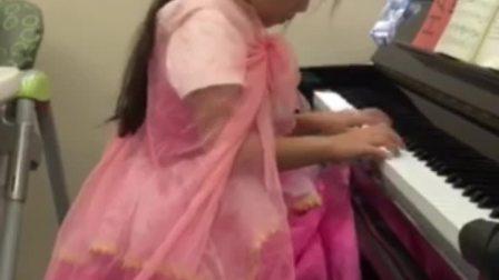 五月琴龄五岁小朋友演奏舒曼《清澈的溪水》