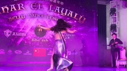 国际名师石英Sofia受邀中国杭州第四届·Sahar El Layaly国际东方舞艺术节Gala show  演出节目:Mejance 爱的话语
