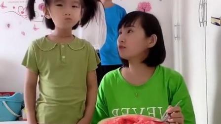 亲子游戏:来吃大西瓜了