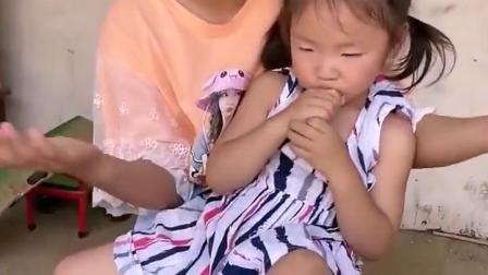 梦回童年:姐姐的脚丫受伤了吗