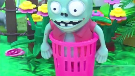 亲子有趣幼教动画:大家摘水果,为什么小僵尸什么也没有做呢?