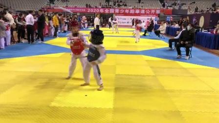 2020.11.28全国青少年跆拳道公开赛第一场