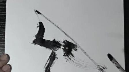 潘俊宏艺术家【京剧系列-2】毛笔速写素描步骤教程…欢迎提问交流