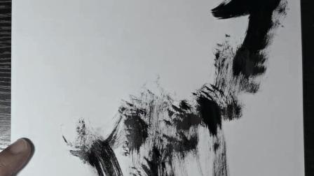 潘俊宏艺术家【京剧系列-4】毛笔速写素描步骤教程…欢迎提问交流