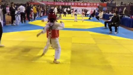2020.11.28全国青年跆拳道公开赛南京站乐乐比赛