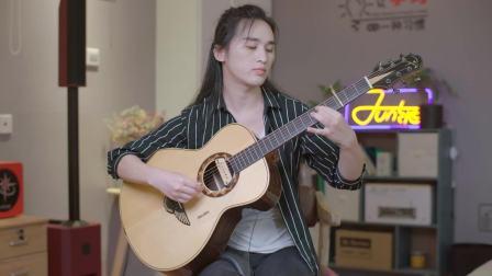 《我只在乎你》叶锐文民谣吉他独奏