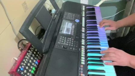 拥抱着你的离去DJ  电子琴 飛揚