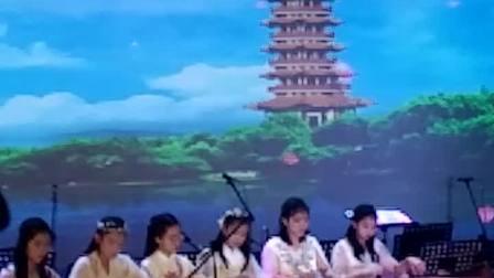 北海第十一届青少年器乐大赛。