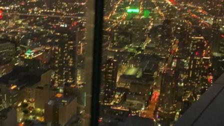 2020年初 洛杉矶美国银行 观光层