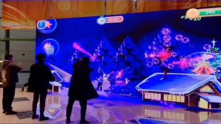 圣诞神箭手-体感多人射箭,支持1-4人同时游戏,现场视频!