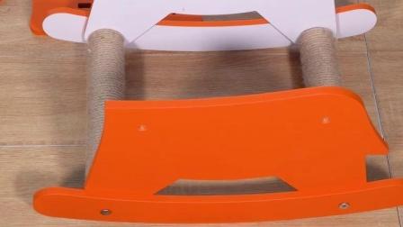 M2002猫爬架(小马款)安装教程