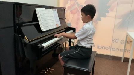 恩铭英皇五级钢琴考试