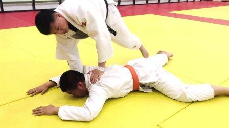奥东武道柔道教学【绞技】的变化运用…