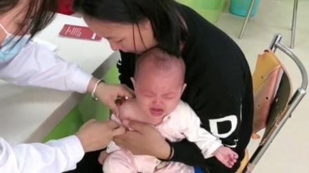 宝宝打预防针