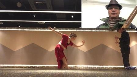 音乐舞蹈 【女儿情】画中画 舞蹈表演:章银妹 笛子演奏:滕宝华
