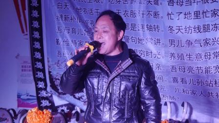 航拍-周贾村武府崔老夫人千古(上)