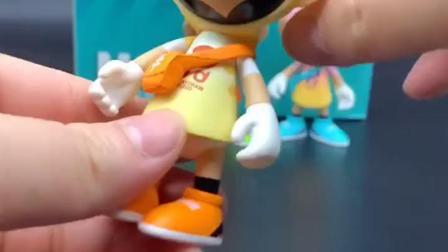 HWE造物潮玩展的playmobi盲盒