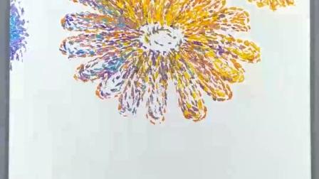 【向阳-禅意油画4】如何绘画步骤教程入门初学技巧课程教学快速表演示范授课私教 放大定制 潘俊宏艺术家