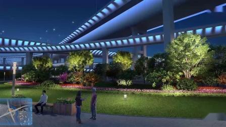 灯光动画 喷泉动画 照明设计 文旅夜游 灯光秀