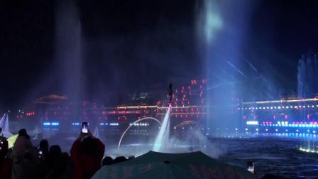 太湖古镇夜景