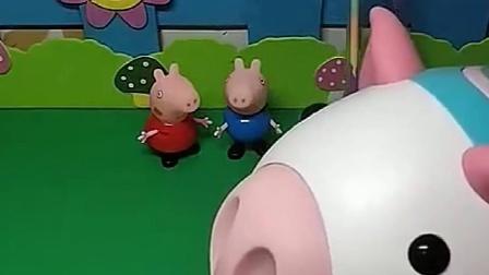 佩奇乔治他们都在做啥,猪妈妈看到都很可爱,他们都会回家吗?