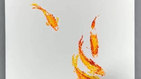 【悠-禅意油画7】绘画步骤教程授课私教|放大定制|潘俊宏艺术家