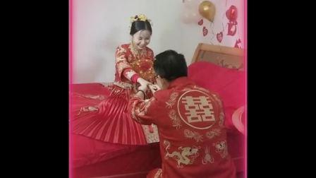 谢林俊婚礼庆典手机小视频