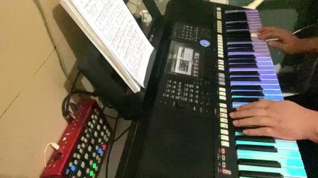 别知己 电子琴 飛揚