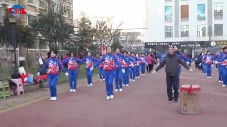 祝贺中国🇨🇳淄江美快乐舞步健身操华能电厂分队成立!