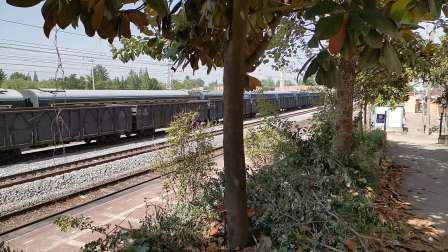 20200517 154102 阳安线HXD2货列通过王家坎站