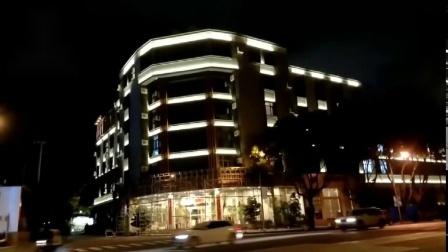 云南保山腾冲兰都商务酒店亮化工程调试灯具厂家