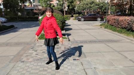 (32)广场舞《谁懂女人花》本小区学跳。徐淡吟老师🌹🌴💄💐