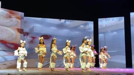 灵灵东方舞《性感小野猫》少儿春晚