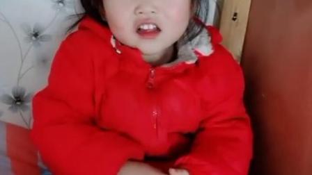 美好的童年:宝贝,来吃芒果喽
