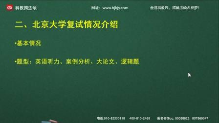 北京大学法硕备考经验分享