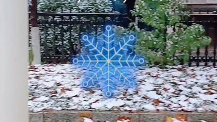 初雪创意。