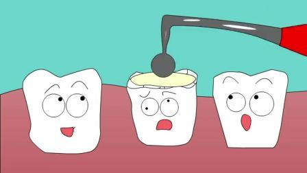 搞笑动漫:补牙
