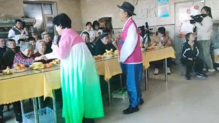 新惠社区阳光艺术团慰问演出 祝妈妈健康长寿