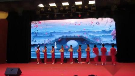 北镇市秧歌舞蹈协会《新年汇演》芙蓉花旗袍队《制作-东明》2020.12.23