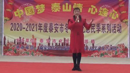 泰安弘艺文化艺术团滨河片区文艺演出(2020年12月26日于许北村)