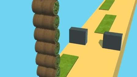 小游戏:小粉人卷草坪