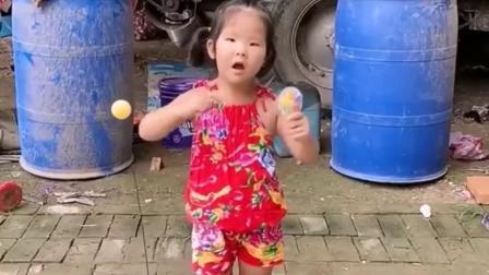 我的童年:咱们一起来玩球啊