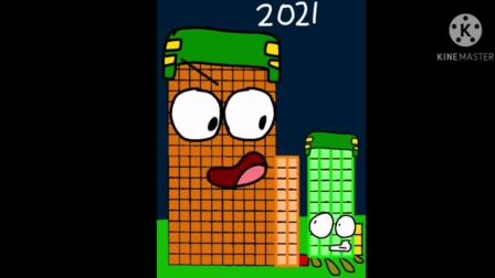 Happy New Year, 2021 (ft. My Numberblock Forty-Three)