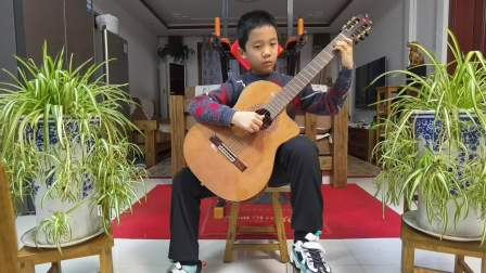 《樱花主题变奏曲》2021-01-03 古典吉他独奏李炫宸