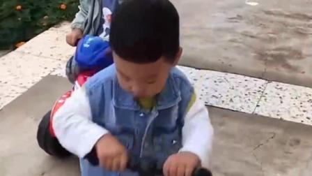 童年的记忆:骑车比赛开始