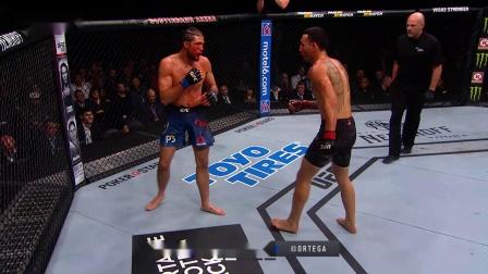 【UFC冠军战】全集中呼吸·连打!麦克斯-霍洛威 VS 布莱恩-奥尔特加