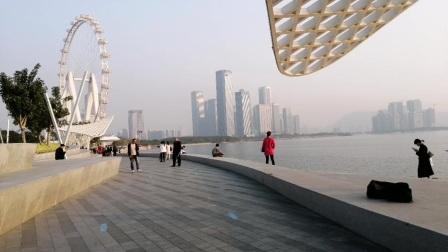 深圳市前海欢乐海港公园美丽风景线